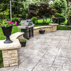 York Bluestone Stamp Patio
