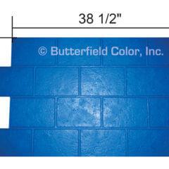 Jumbo Brick Running Bond Stamp with Specs