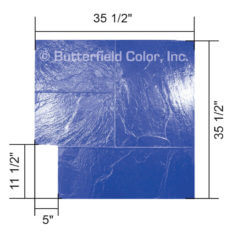 Majestic Ashlar Blue Stamp with Specs