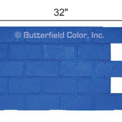 New Brick Running Bond Stamp with Specs