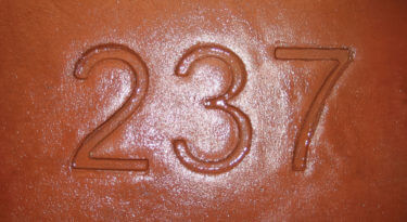 Numbers Stamp Sample