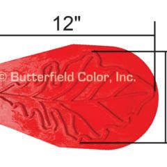 Oak Leaf Stamp with Specs