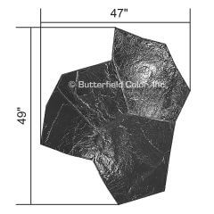 Orchard Stone Black Stamp with Specs
