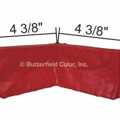 2 148243 Cut Stone Form Liner 90 Outside Corner with Specs