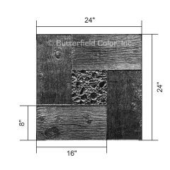 Pebblewood Black Stamp with Specs