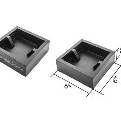 6 Table Leg Mold Block Set with Specs