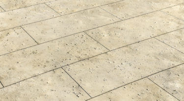 Travertine Texture Stamp Patio