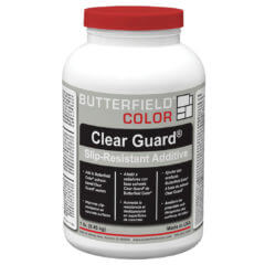 Clear Guard Slip-Resistant Additive Packaging