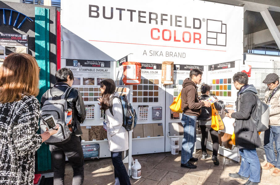 World of Concrete 2019 butterfield color