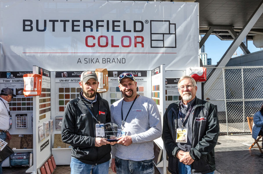 Project of the Year Butterfield Color winners